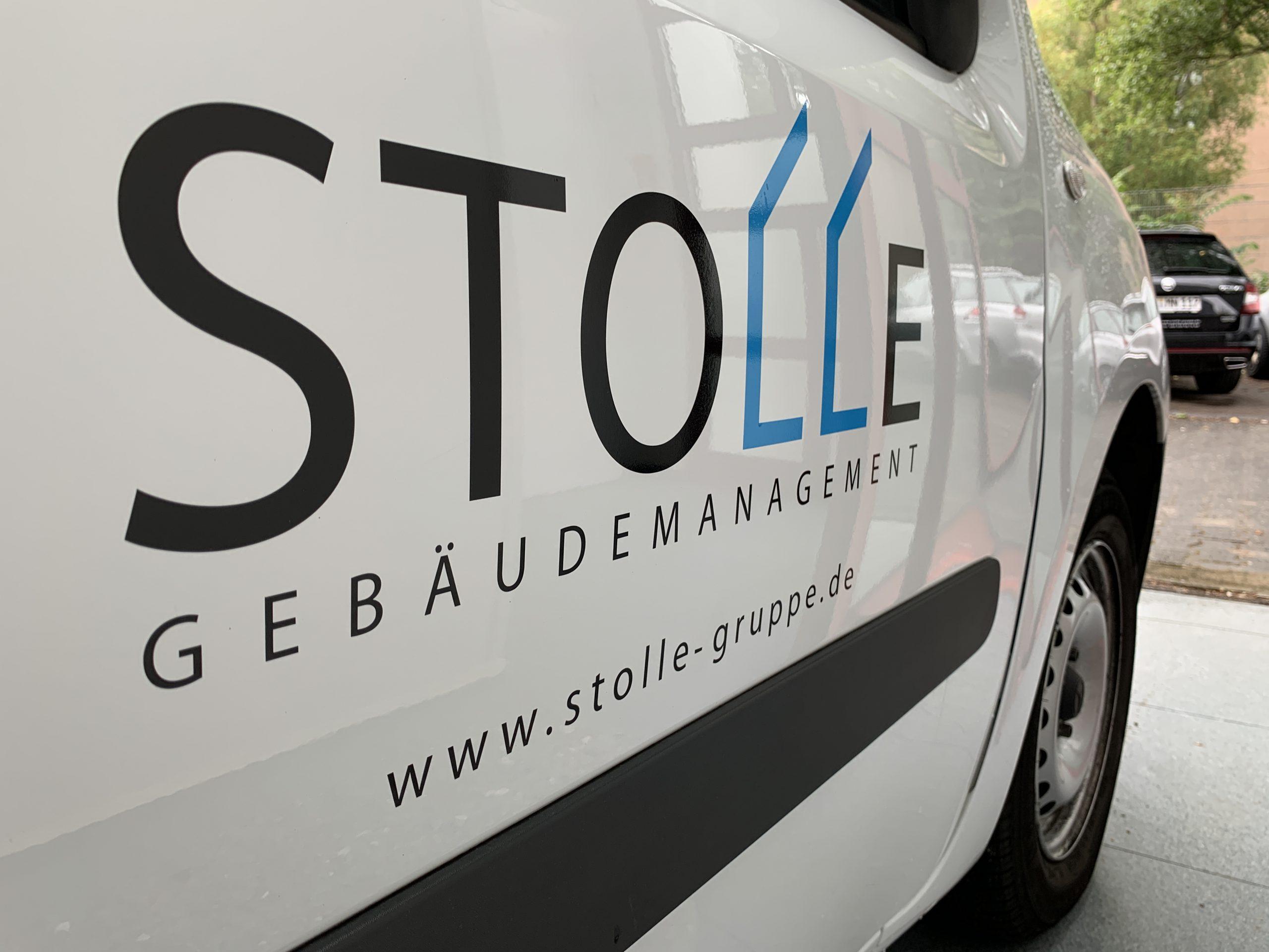 Auto Beklebung mit Logo
