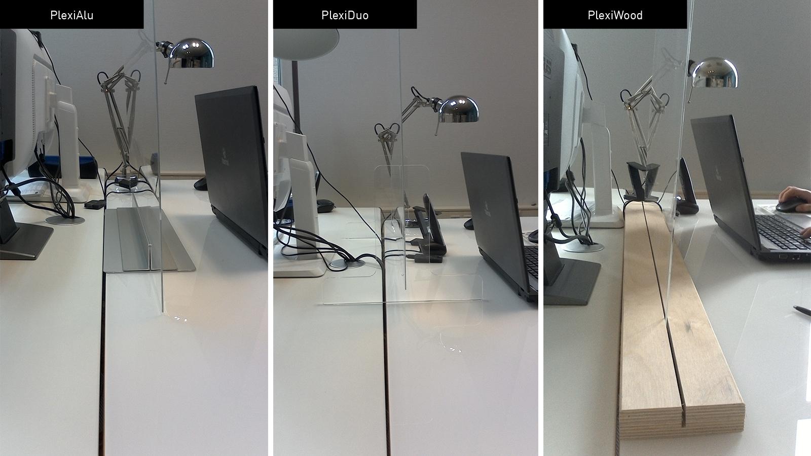 Übersicht Muster Standfüße